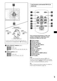 card remote commander rm x114 (optional) sony cdx ca650x user sony xplod cdx-ca650x wiring diagram card remote commander rm x114 (optional) sony cdx ca650x user manual