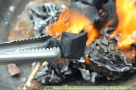 barbecue lighting fluid tips for charcoal without lighter create strong burning fire step