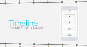 Timeline Layout Get New Layouts For Your App With Siberian Cms App