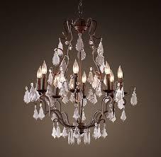 popular florian crystal chandeliers regarding florian crystal chandelier small view 10 of 10