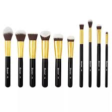 best inexpensive makeup brushes. you can find some pretty affordable brush sets online. bh cosmetics always has promos going on! with their current sale on right now, best inexpensive makeup brushes n
