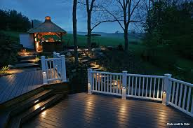 outside deck lighting. view image outside deck lighting