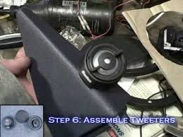 how to install car speakers w passive crossovers mid drivers psst