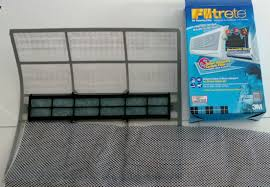 air conditioning filters. i bought the blue box filtrete at a diy shop for less than $30. air conditioning filters