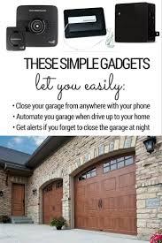 open garage door with phoneBest 25 Smart garage door opener ideas on Pinterest  Door opener