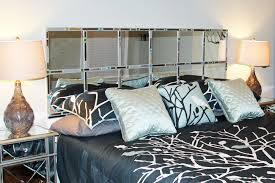 Mirrored Headboard Design