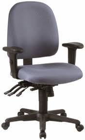 office chair fabric. Adjustable Ergonomic Fabric Office Chair H