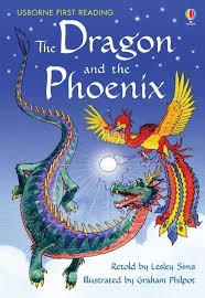 Usborne First Reading Level 2 Dragon & the Phoenix - Lesley Sims - Jungle.lk