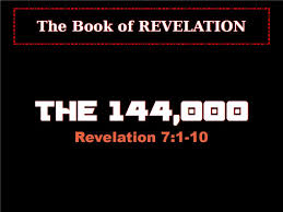 Image result for 144,000 in revelation 7