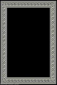 details about 5x7 area rug modern greek key design solid black with border new