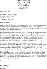 Sample Cover Letters Pdf