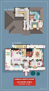 home floor plans of famous tv shows 5