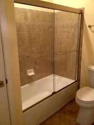 midlothian semi frameless sliding glass bathtub enclosure virginia shower door llc richmond va 804 784 7244