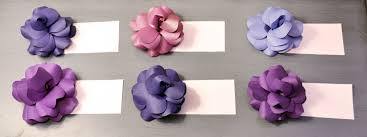 Cardstock Paper Flower Diy Paper Flowers Unique Escort Cards For Your Wedding Miss Bizi Bee