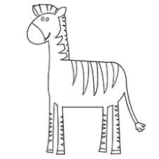 Small Picture zebra print printable zebra coloring pages fancy zebra coloring