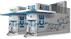 Stand Alone Ice Machine Vending Stunning House Kiosk And Express Our Ice Water Vending Models