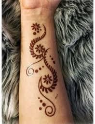 černé Mandaly Henna Nalepovací Tetování Potetujcz