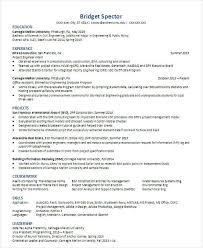 Modern Engineer Resume 30 Modern Engineering Resume Templates Free Premium