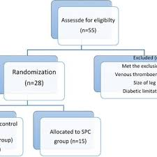 Venous Blood Flow Chart Statistical Analysis Of Venous Blood Flow Variables Within