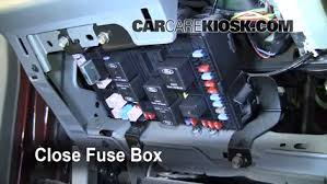 interior fuse box location ford f super duty  interior fuse box location 1999 2007 ford f 250 super duty 2005 ford f 250 super duty xlt 6 0l v8 turbo diesel crew cab pickup 4 door