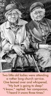 church lady sayings | Old Lady Sleeping In Church ... via Relatably.com