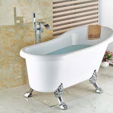 floor mount bathroom faucet free standing clawfoot bath tub how to choose