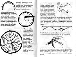 How To Make Authentic Dream Catchers Illustrated instructional booklet sample page of real weaving 27