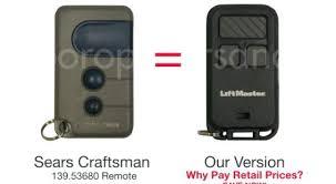 craftsman door opener. Reprogramming Craftsman Garage Door Opener Remote Sears Programming O
