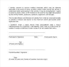 Liability Waiver Form Template Free Word Liability Waiver Form Template Ericremboldt Com