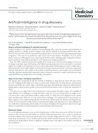 Medchem Designer Crack Pdf Artificial Intelligence In Drug Discovery