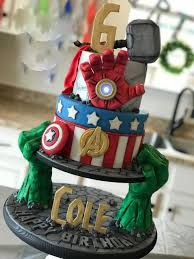 Custom cakes, cupcakes, & cookies! 8 Avengers Theme Birthday Party Ideas
