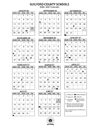 School Calendar Template 2015 2020 Guilford County School Calendar 2020 Calendar