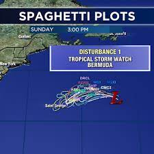 Tropical storm watch up for Bermuda