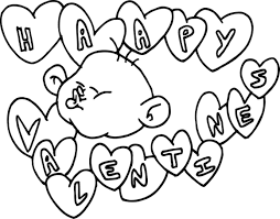 Small Picture Happy Valentines Day Coloring Pages Valentine Coloring pages of