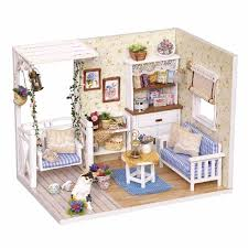 aliexpresscom buy doll house furniture diy miniature dust cover 3d wooden miniaturas puzzle dollhouse for child birthday gifts toys kitten diary from aliexpresscom buy 112 diy miniature doll house