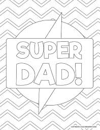 The best part about them? 6 Dad Coloring Pages Free Kids Printables Mrs Merry