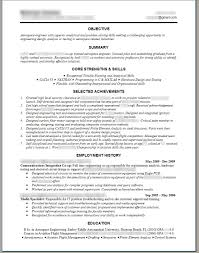 Technical Resume Template Word Resume For Study