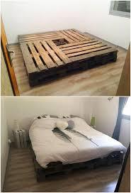 pallet bedroom furniture. Best 25+ Pallet Bed Frames Ideas On Pinterest | Beds Bedroom Furniture T