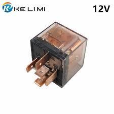 <b>KELIMI Car</b> Relay 80a 12 Volt coil DC 4Pins 5Pins 24V Heavy duty ...