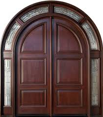 home element furniture. Outstanding Double Entry Door As Home Element Design Ideas : Minimalist Furniture Using Mahogany O