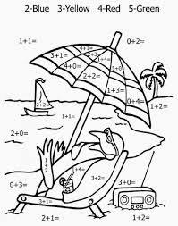 Small Picture Coloring Pages By Number Printable Coloring Pages