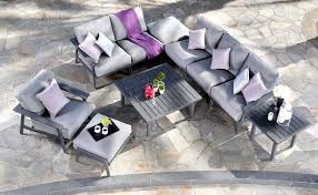 updated patio furniture sets the stage