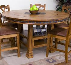mind blowing dining room design ideas using round dining table with lazy susan good looking
