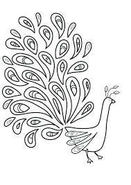 search for at outline images peacock drawing glass painting