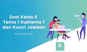Cendera mata replika monas semoga bermanfaat bagi para pemirsa di dunia pendidikan di seluruh indonesia. Soal Kelas 6 Tema 1 Subtema 1 Dan Kunci Jawaban Osnipa