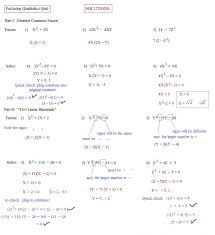 glamorous kuta algebra 1 solving quadratic equations by factoring worksheet answers kutaftware 1lving llc 2