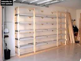 how to build sy garage shelves home improvement