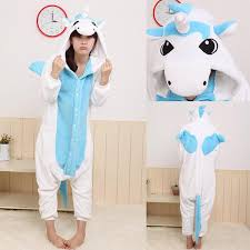 plus size footed pajamas wholesale unicorn onesie anime cosplay unicorn costume adult