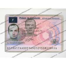 France False Sale License For Drivers France Online Real Driving Driver's Licence Template Buy French Permit Original Of Fake