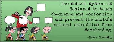 Conformity Quotes Delectable The School System Is Designed To Teach Obedience And Conformity And
